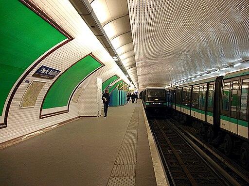 Metro de Paris - Ligne 1 - Porte Maillot 05