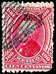 Mexico 1881 100c used Sc122 GUANAJUATO 3683.jpg