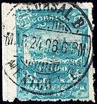 Mexico 1896-97 15c perf 12 Sc263 used.jpg