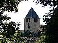 Mialet (Dordogne) église clocher (2).JPG