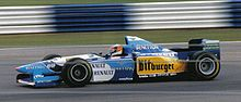 Photo de Michael Schumacher sur Benetton B195