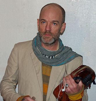 Michael Stipe - Stipe at the 2007 Tribeca Film Festival