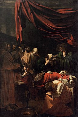 Michelangelo Merisi da Caravaggio - The Death of the Virgin - WGA04160