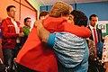Michelle Bachelet participa en un encuentro con dirigentes sociales y vecinales de Puente Alto. (8658477848).jpg