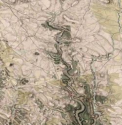 Палац на мапі фон Міґа