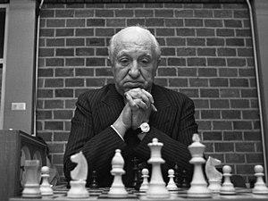 Miguel Najdorf - Miguel Najdorf in 1973