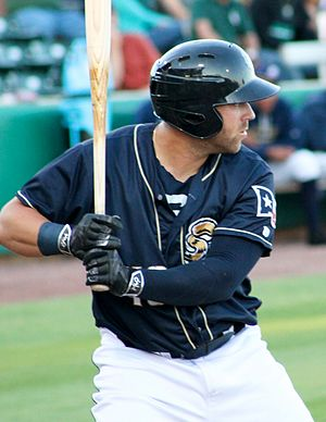 Mike Olt - Olt with the San Antonio Missions in 2016