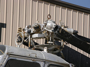 Sikorsky H-19 Chickasaw - UH-19B rotor head