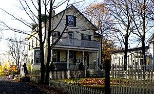 Harrison Square Historic District - Image: Mill Street, Harrison Square Historic District Boston MA 02