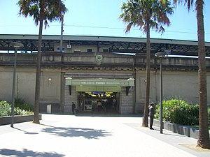Milsons Point railway station - Western entrance in October 2011