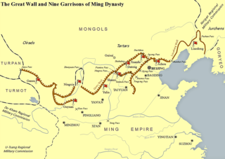 Nine Garrisons of the Ming dynasty