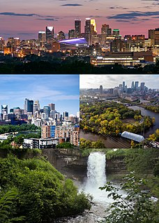 Minneapolis Largest city in Minnesota