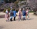 Mito Kōmon, Suke-san, Kaku-san and Ambassadors of Mito no Ume.jpg