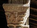 Moissac (82) Abbaye Saint-Pierre Cloître Chapiteau 09.JPG