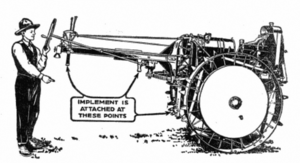 Moline Plow Company - Image: Moline Universal Tractor in Adams Common Sense 1920