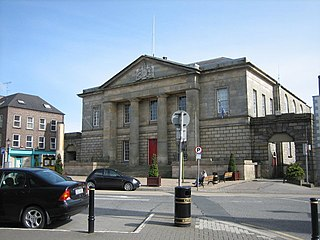 Monaghan Town in Ulster, Ireland