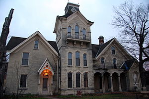 National Register of Historic Places listings in La Crosse County, Wisconsin - Image: Mons Anderson House
