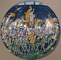 Montelupo, piatto con Leone X in processione a firenze, 1516 ca.JPG