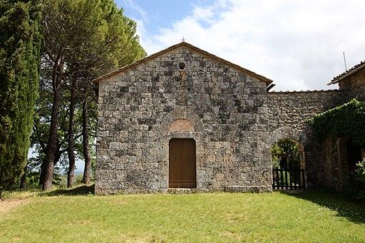 Monteriggioni, San Lorenzo in Colle Ciup