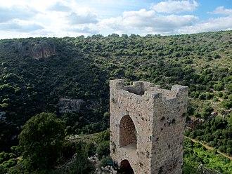 Montfort Castle - The inner gate tower