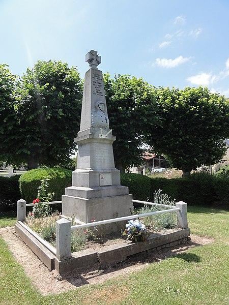 Montigny-le-Franc (Aisne) monument aux morts