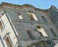 Montmajour,monastère St Maur06,façade est.JPG