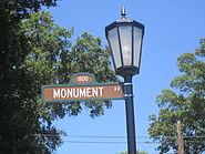 Monument Avenue sign, Richmond, VA IMG 4064