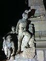 Monumentul Eroilor căzuţi în primul război, Afumați - detaliu personaj central.JPG