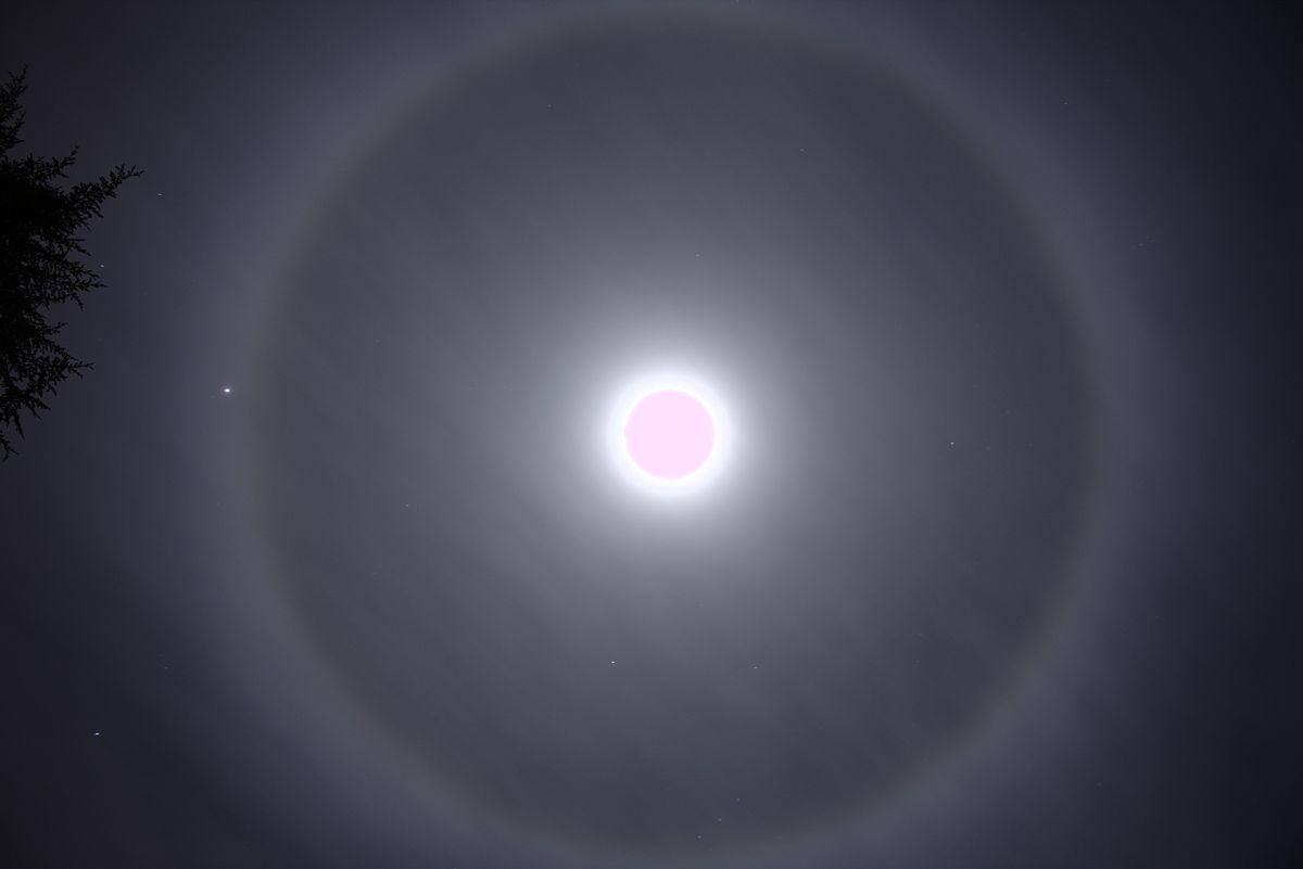 Ring Around Moon And Sun