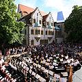 Moritzburg, Talamt auf der Südseite des Hofs bei Konzert der Staatskapelle Halle.jpg