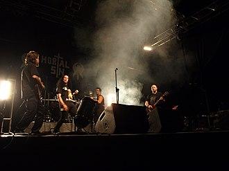 Mortal Sin (band) - Image: Mortal Sin Jalometalli 2008 09