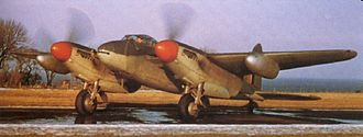 RAF West Raynham - Two squadrons of de Havilland Mosquito night fighters were based at RAF West Raynham from 1943.