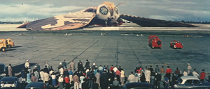 Mosura trailer - Mothra airport.png