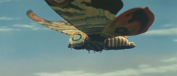 Mosura trailer - Mothra flying