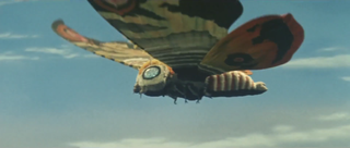 Mothra Kaiju who first appeared in Tohos 1961 film Mothra