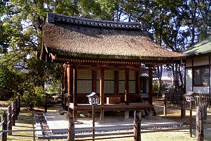 Chinjusha - Image: Motoyamaji Chinjyudou