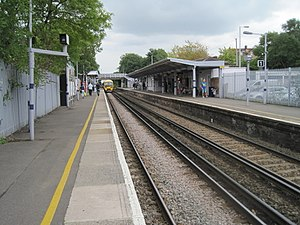 Mottingham railway station - Image: Mottingham railway station, Greater London (geograph 3682416)