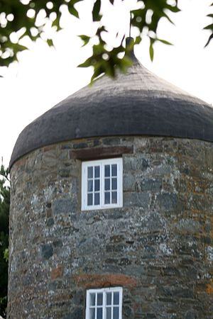 Le Moulin - The former windmill on Sark's highest point