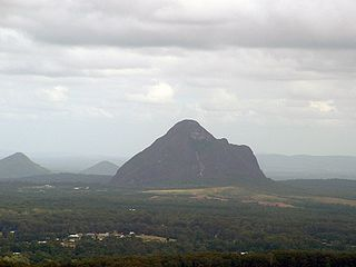 Glass House Mountains, Queensland Town in Queensland, Australia