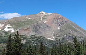 Mount Lincoln (Colorado) - Image: Mount Lincoln Colorado July 2016