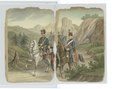 Mounted Hussars guided by an umnounted man with a cane (NYPL b14896507-90170).tiff