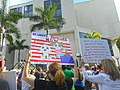 Moveon.org Anti Trump Family Separation Protests - Miami Dade College, Miami Florida 03.jpg