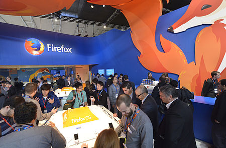 Mozilla stall at MWC 2014.jpg