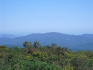 Mount Dōgo mountain in Japan