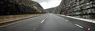 highway in Mexico