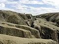 Mud volcanoes area Romania ( Paclele Mici) - panoramio.jpg