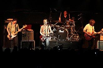 Mudhoney - Maddison, Arm, Peters and Turner in 2007