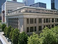 Multnomah County Courthouse in Downtown Portland
