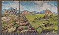 Mural outside Lil' Red's Longhorn Saloon in the Stockyards District of Fort Worth, Texas LCCN2015630599.tif