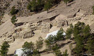 Argaric culture - Image: Muralla La Bastida (Totana)